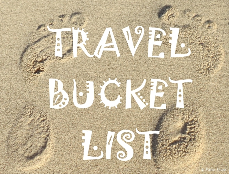 Travel Bucket List Blog