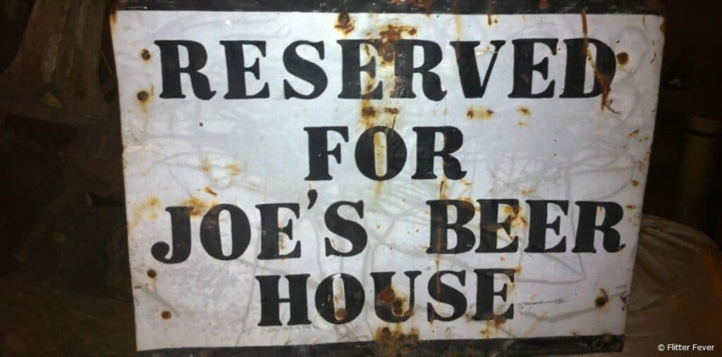 Joe's Beer House restaurant Windhoek Namibia