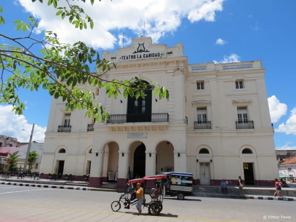 Teatro de Caridad (Theatre of Charity) in Santa Clara Cuba