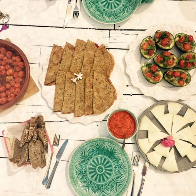 Yoga Retreat food @ Morocco (Retreat Yourself)