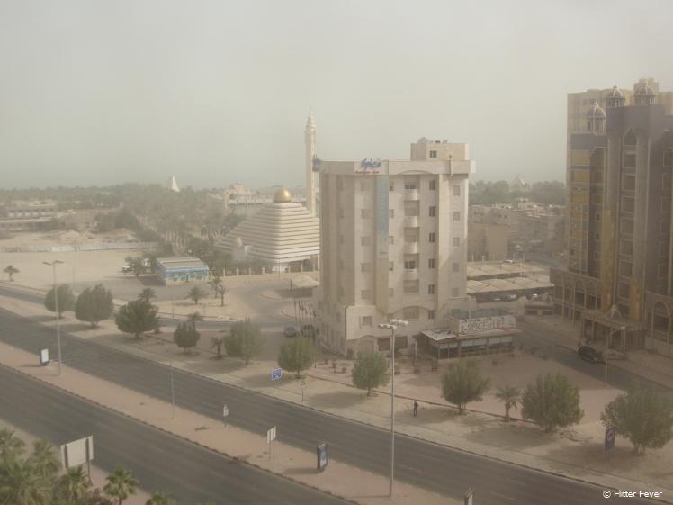 Sandy morning in Kuwait