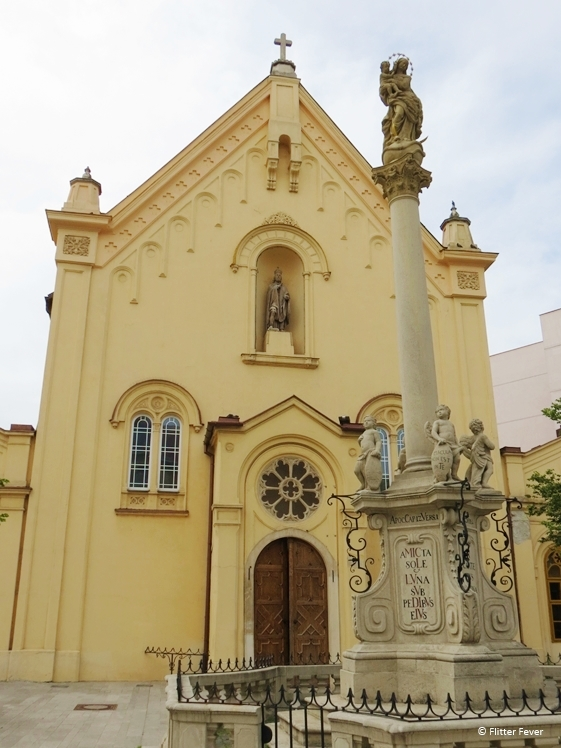 St. Stephan Capuchin Church Bratislava