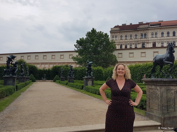 Adrian de Vries statues at Wallenstein Garden in Prague