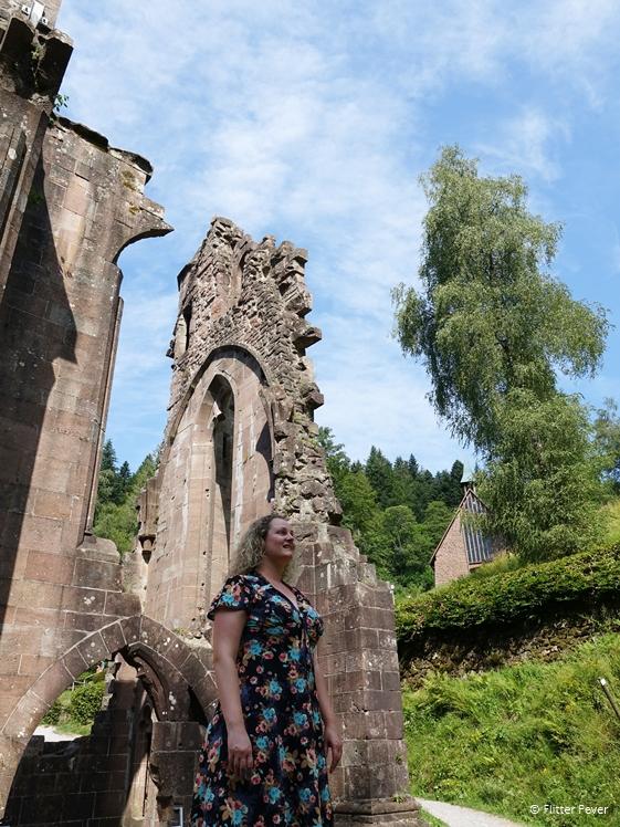 All Saints Allerheiligen monastery ruin in Oppenau