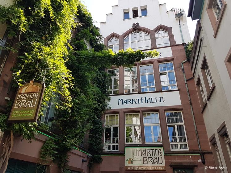 Markthall in Freiburg Martin's Brau beer Freiburg im Breisgau