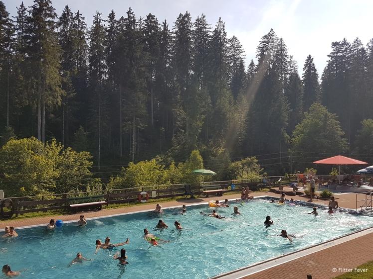 Wald Schwimmbad Kniebis