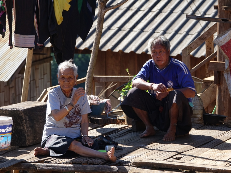 Local people in Ban Cha Bo, Northwest Thailand