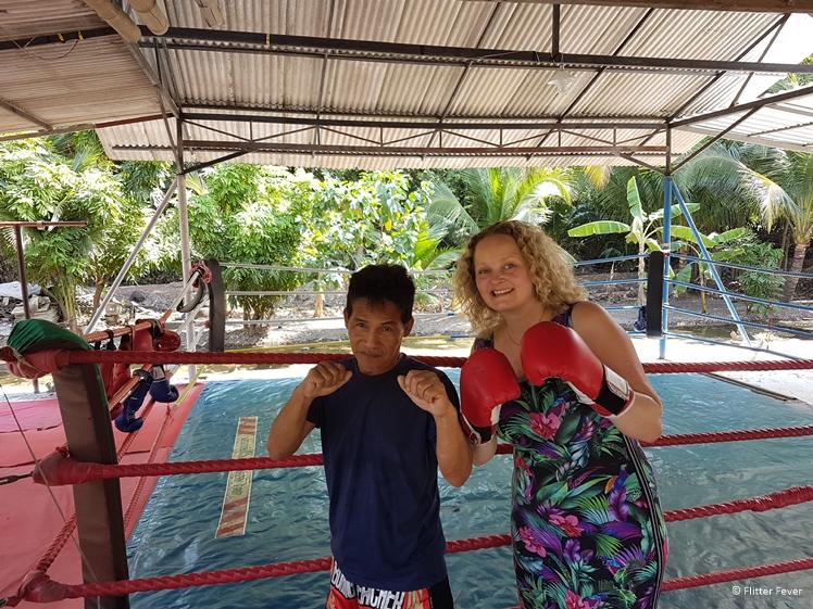 Muay Thai Boxing Class at Bang Kachao island Bangkok