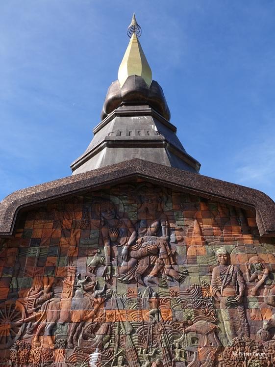 Phra Mahathat Naphamethanidon in Doi Inthanon National Park