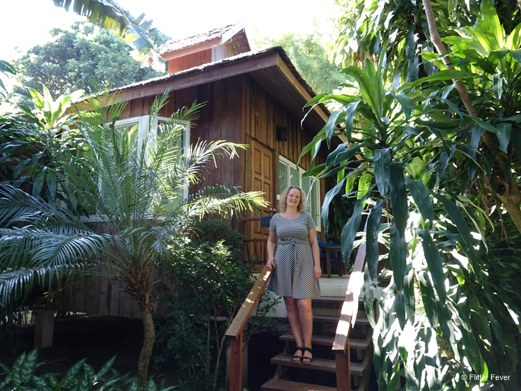Charming wooden houses surrounded by exotic garden at Rim Pai Cottage