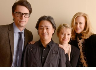 Park surrounded by his STOKER cast