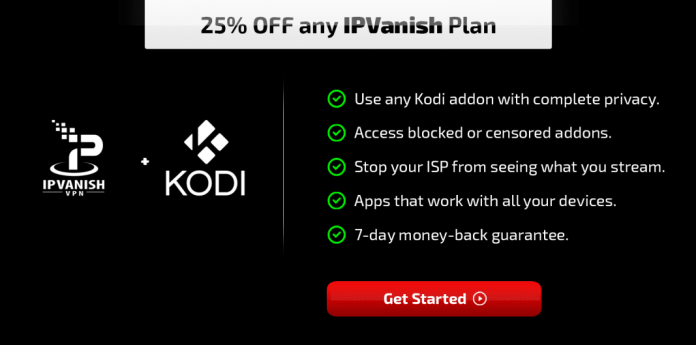 IPVanish and Kodi