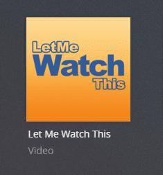 letmewatchthis plex channel screenshot