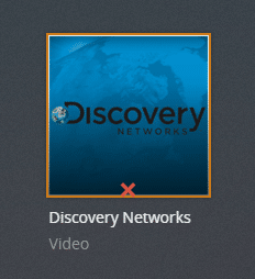 Discovery networks plex channel screenshot