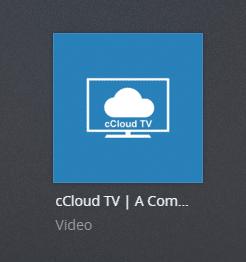 ccloudtv plex channel screenshot