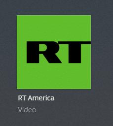 RT America plex channel screenshot