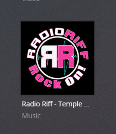 RadioRiff plex channel screenshot
