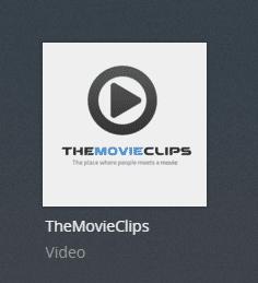 Themovieclips plex channel screenshot