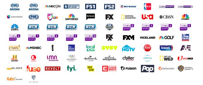 fuboTV Channel List