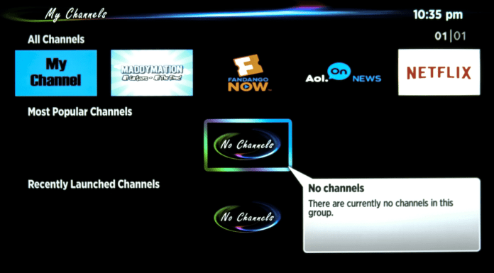 MyChannels on Roku