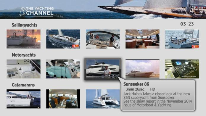 Yachting Channel on Roky