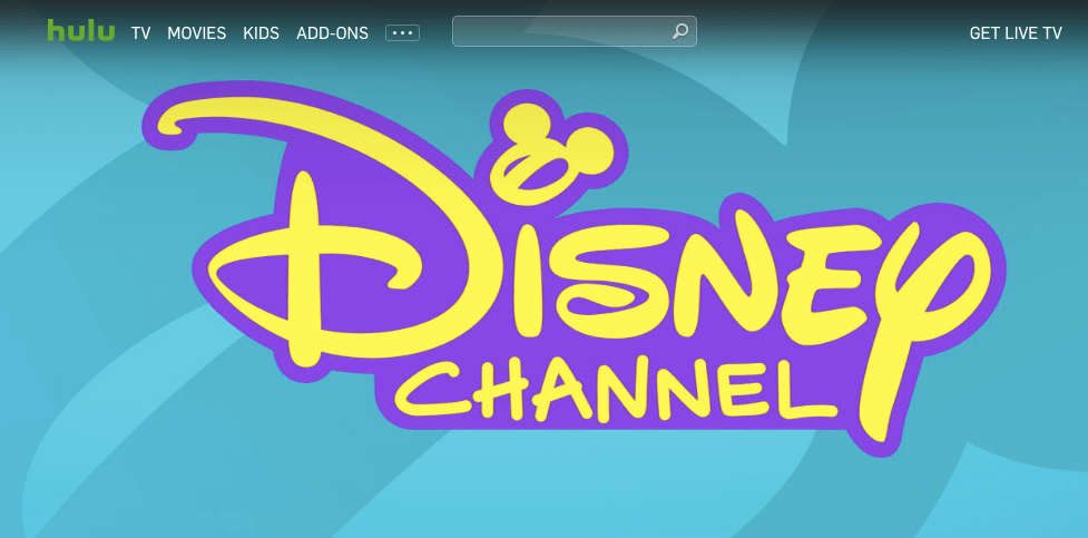 Disney Channel on Hulu