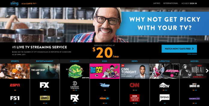 sling tv espn cable alternative cord-cutting amazon fire tv