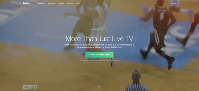 hulu with live tv espn streaming amazon fire tv no cable alternative cord-cutting
