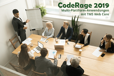 CodeRage 2019 Germany: Multi-Plattform Anwendungen mit TMS Web Core