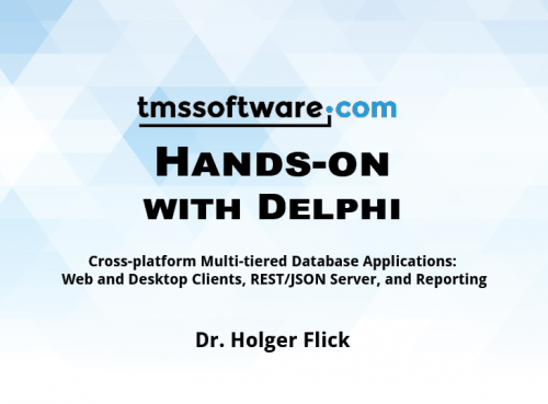 New Delphi book with hands-on examples!