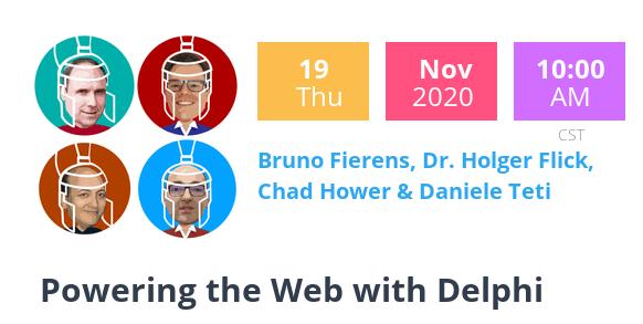 DelphiCon 2020: Powering the Web with Delphi