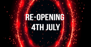 reopening saturday 4th july