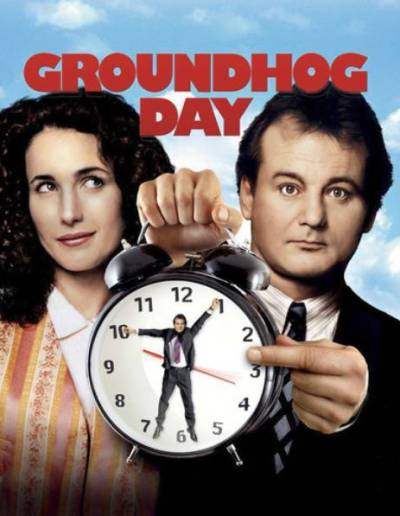 Ep #151 Groundhog Day with Scott Davis from Hey You Guys and Amon Warmann from Empire Magazine.
