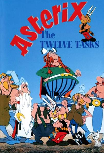 Ep #154 The Twelve Tasks of Asterix with Felix Trench from Wooden Overcoats and Quid Pro Euro and Tom Crowley also from Wooden Overcoats and Crowley Time.