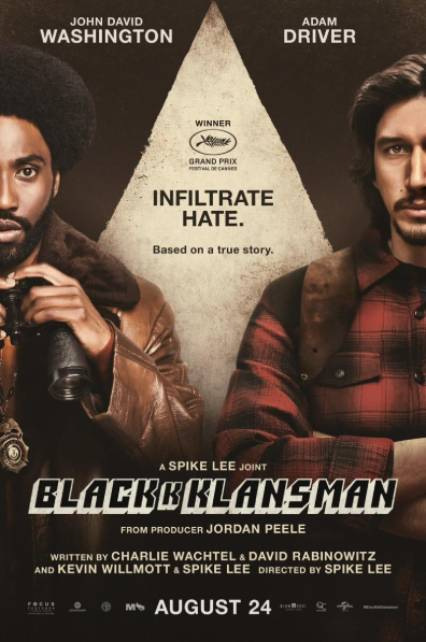 Ep # 173 BlacKKKlansman with Esther Lisk-Carew  and Jass Thethi from Well Spoken Tokens.