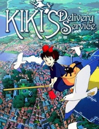 Ep #184 Kiki's Delivery Service with Rachael and Faye from Her Dark Materials Podcast.