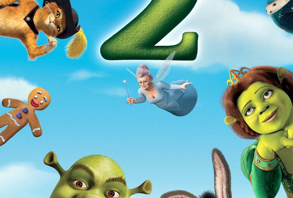 Episode 218 Shrek 2 with Zachary Fortais-Gomm and Elizabeth Campbell from Realms of Peril and Glory