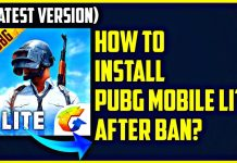 PUBG MOBILE LITE Download After Ban