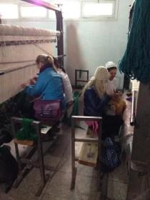 Rug Making in the Artisan Quarter