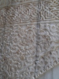 Carved Marble from the Ben Youssef Medersa