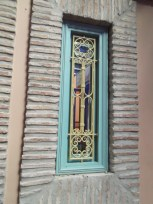 Window from the Majorelle Gardens