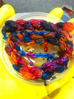 Dyeing Threads