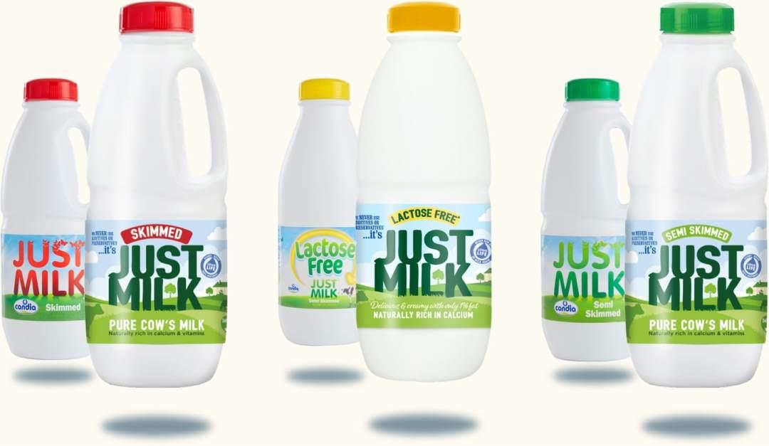 Milk - New JUST MILK packaging