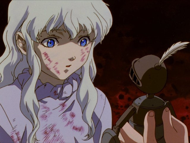 Image result for berserk anime griffith dream