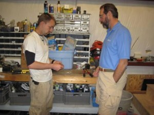 Rick From Polaris Marine Continues To Share His Expertise With Ryan