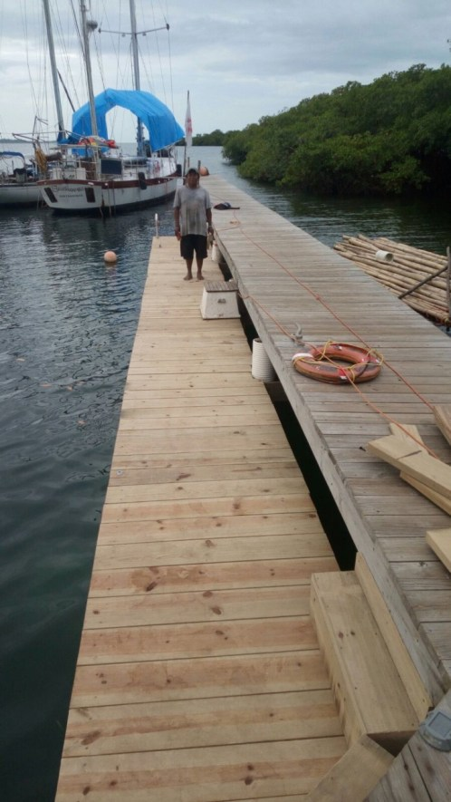 New Dock by Wilkes Community College