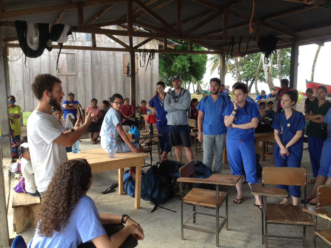 Pre-Clinic Briefing in Playa Verde