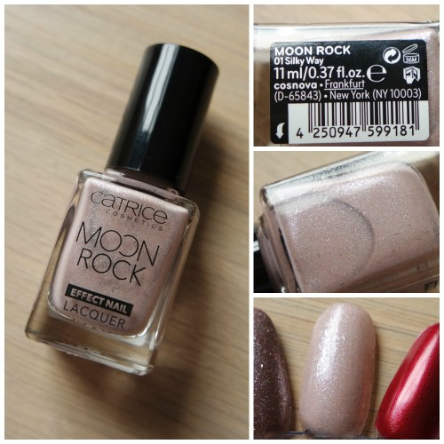 Catrice Moon Rock Effect Nail Lacquer 01 Silky Way