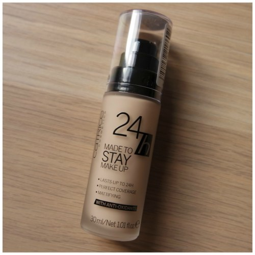 Catrice 24 H Made to Stay Make Up foundation Waterproof 005 Ivory Beige review