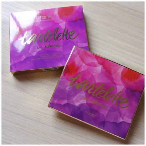 tarte tartelette in bloom eyeshadow palette review swatch